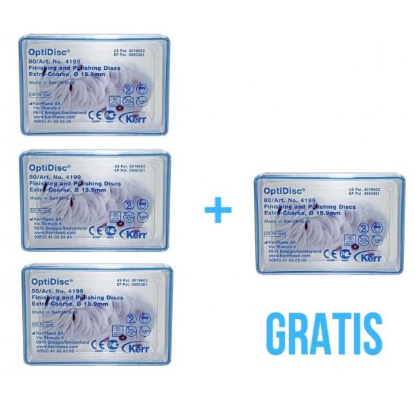 2 opakowania OptiDisc + 1 opakowanie trzymadełek OptiDisc Standard Mandrel Refill GRATIS