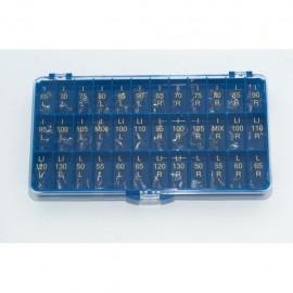 Korony Poliestrowe Zestaw Mix Zęby Przednie MIX 108szt