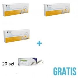 3 opakowania Purevac HVE Mirror Tips + Gratis 20 szt gumek Enhance® płomyk