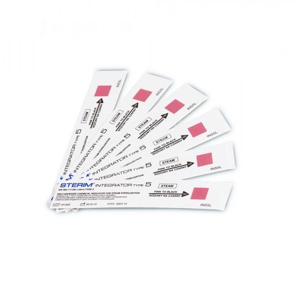 Sterim® Control 5 Chemiczne testy zintegrowane para wodna