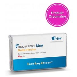 Gutaperka kalibrowana do systemu piliników VDW Reciproc BLUE