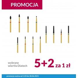 Wiertła Diatech Promocja 5+2 Gratis