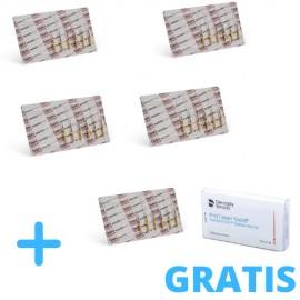 4 x ProTaper Gold® +  GRATIS 1 blister ProTaper Gold® (asortyment 6 pilników) + Gutaperka Protaper Gold F2 60 szt