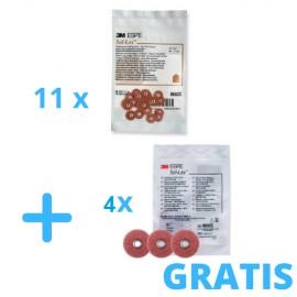 Zamów : 10 x Soflex ( 50 szt 1/op) + Gratis 4x Sof-Lex ( 50 szt 1/op )