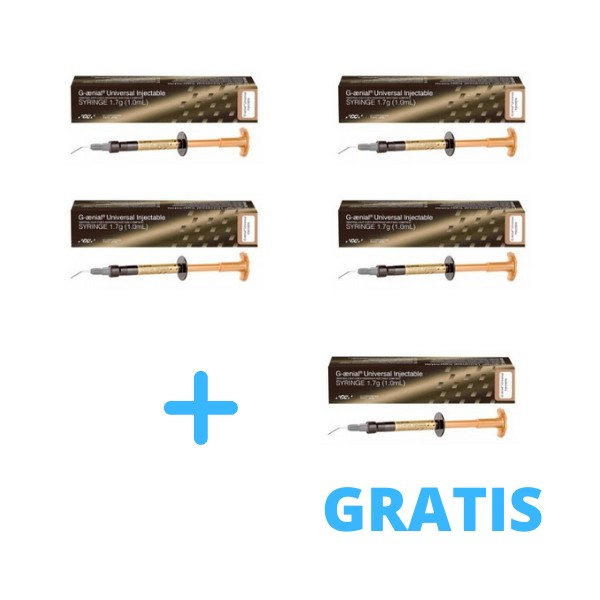 4 x G-Aenial Universal Injectable 1ml ( 1,7g ) + 1 x G-Aenial Universal Injectable A2 lub A3