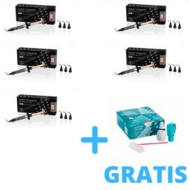 5 x G-Aenial Universal Flo 2ml ( 3,4g ) + 1x G2-Bond Universal Bottle Kit