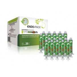 Cerkamed Endo-Pack Strzykawki do Chloraxid 2% 20szt