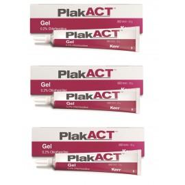 PlakAct - Żel z Chlorheksydyną do Intensywnego Usuwania Płytki Nazębnej Gel 0,2% 33g