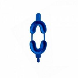 DENTALINE Jednorazowe łyżki do fluoryzacji duże niebieskie (Opak. 100 szt.)