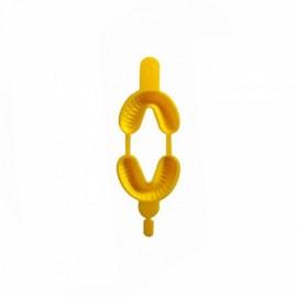DENTALINE Jednorazowe łyżki do fluoryzacji średnie żółte (Opak. 100 szt.)