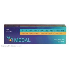 Torebki do sterylizacji MEDAL 70 x 230 mm