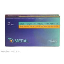 Torebki do sterylizacji MEDAL 90 x 135 mm