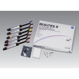 BEAUTIFIL II Tips 6 Color Set Shofu