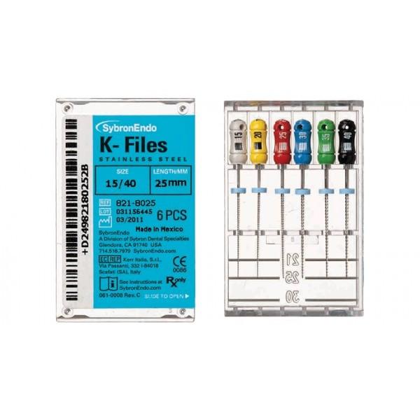 Pilnik K-File Sybron Endo 25mm