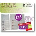 Pilniki C-File Maileffer 6 szt Super Promocja 2+1 Gratis