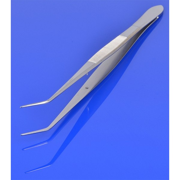 Pinceta stomatologiczna College Flagg, bez nacięć DS-58