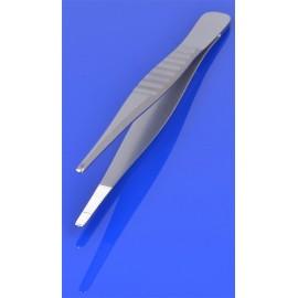 Pinceta anatomiczna 13,5 cm, karbowany uchwyt PR-66