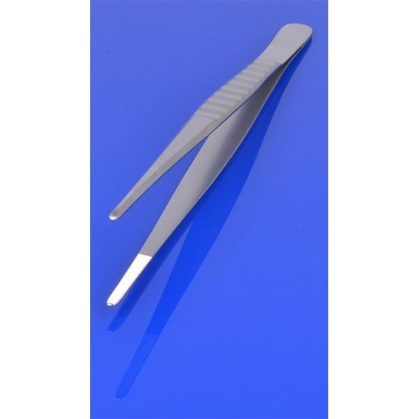Pinceta anatomiczna 18 cm, karbowany uchwyt PR-70