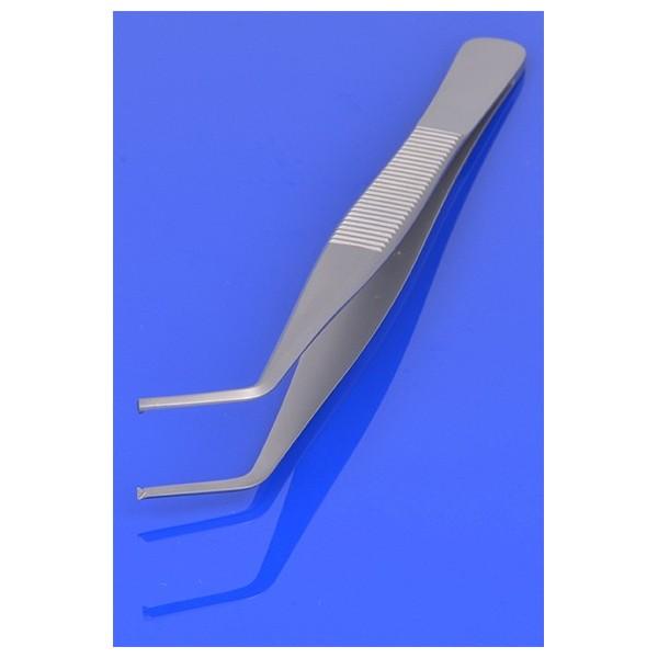 Pinceta chirurgiczna zagięta 12.5 cm PR-172