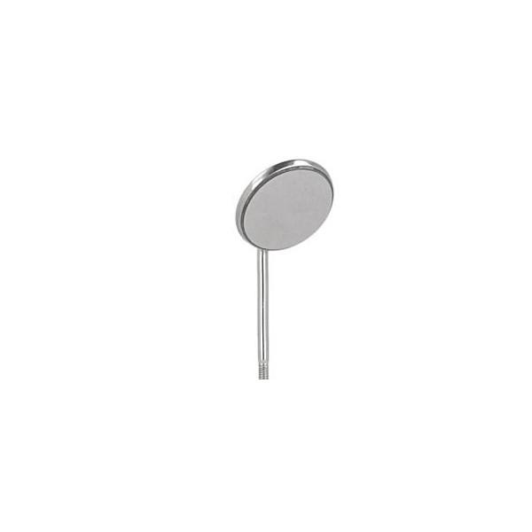 Lusterko płaskie przedniopowierzchniowe rodowane rozm. 4 (22mm)