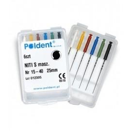 Endostar pilniki NiTi S 6szt