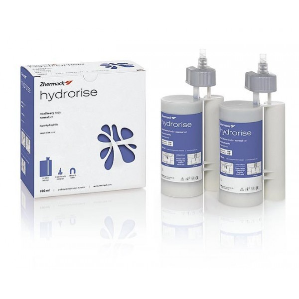 Hydrorise Maxi Heavy Body Normal 2x380ml + 2 pierścienie + 15 końcówek Dynamic