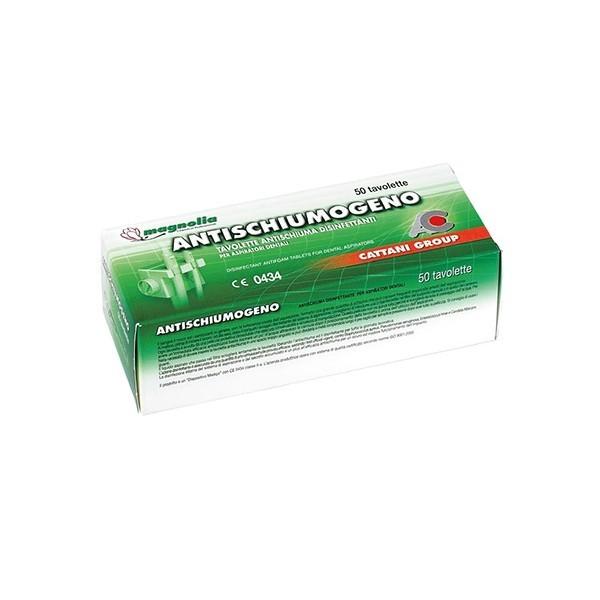 Antypieniące czyszczące tabletki Magnolia Cattani 50szt