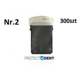 Osłona płytki fosforowej RTG opakowanie 33 x 44mm Nr. 2 300 szt