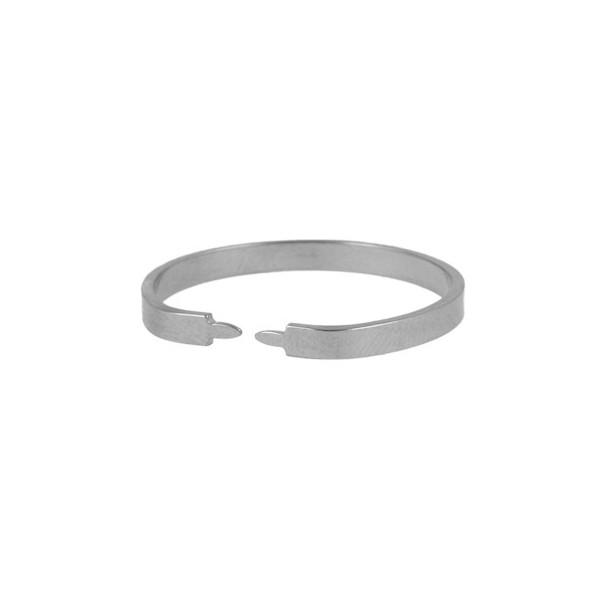 Zacisk pierścieniowy do matryc perforowanych