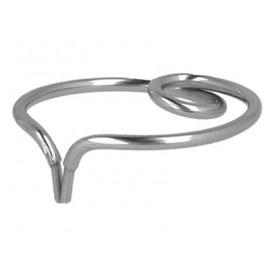Elastyczny zacisk pierścieniowy do matryc siodłowych