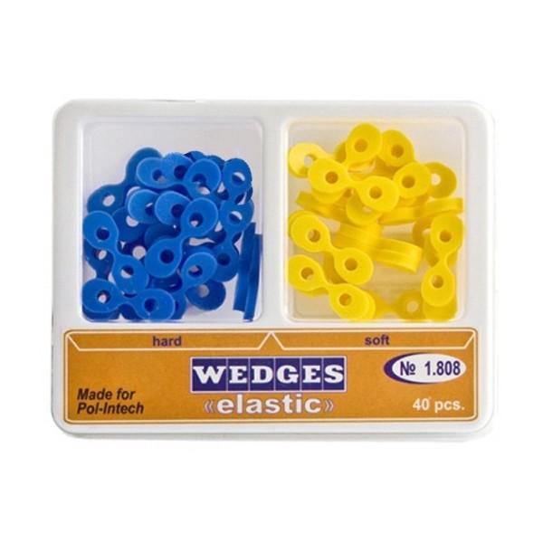 Kliny elastyczne do formówek sekcyjnych (opakowanie 40 szt)