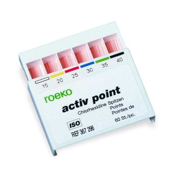 Ćwieki z chlorheksydyną Activ Point 60 sztuk