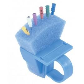 Organizer Endodontyczny niebieski na palec do sterylizacji