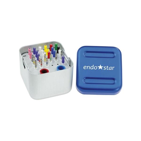 Endobox Endostar - pojemnik z zestawem pilników 28 szt