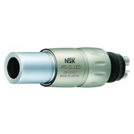 Szybkozłączka PTL-CL-LED z podświetleniem LED tytanowa