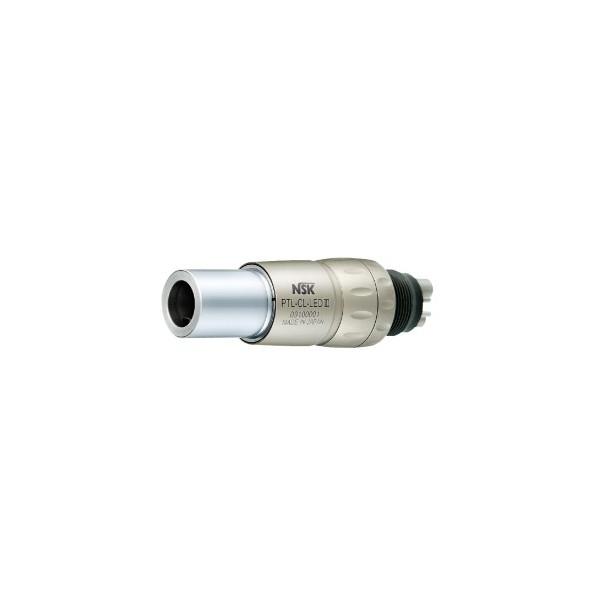 Szybkozłączka PTL-CL-LED III z podświetlaniem diodowym, tytanowa z regulacją wody