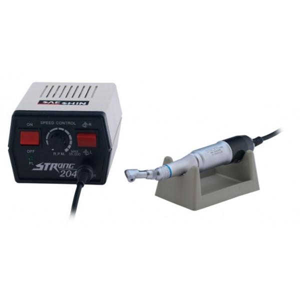 Mikrosilnik TRAUS 204 z mikromotorem typ E (moc 65W) - dawniej STRONG