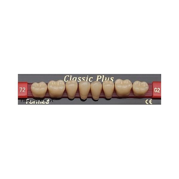 Zęby Classic Plus boki DÓŁ fason 65
