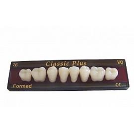 Zęby Classic Plus V boki DÓŁ fason 76