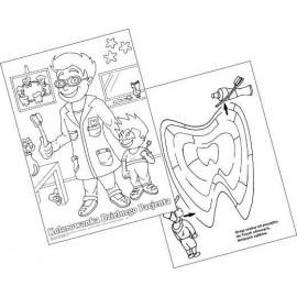 Malowanki Pan Doktor – bloczek A-4