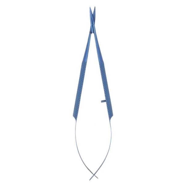 Nożyczki implantologiczne/mikrochirurgiczne tytanowe Azzurro-Line