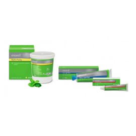 Oxasil putty / soft putty 1x900 ml + Oxasil Light Flow/ Very Flow/ Mucosa 1 x 140 ml + Oxasil Aktywator Pasta 60ml