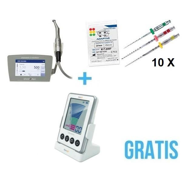 Elements™ E-Motion + 10 pilników TF Adaptive + Gratis Endometr Apex ID