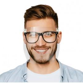 Przyłbice doczepiane do okularów korekcyjnych - 2 szt