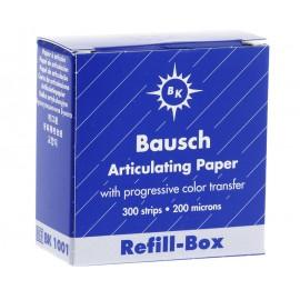 Kalka prostokątna 200µ Bausch BK 1001 Niebieska