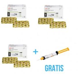 2 x Relyx Fiber Post ( 10 szt / op ) + Gratis 1 x Relyx u200 Automix w kolorze A2